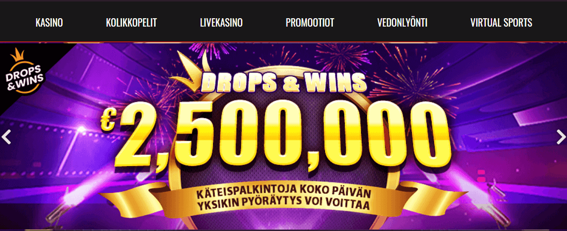 Casino Sieger Drops and Wins